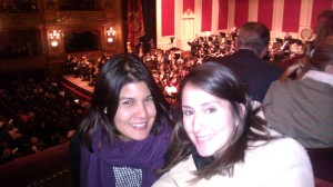 Our wonderful seats