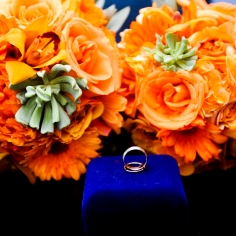 5. Wedding Ring and Bouquet